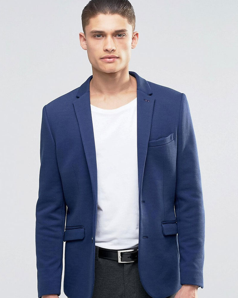 Blouson Blue Jacket